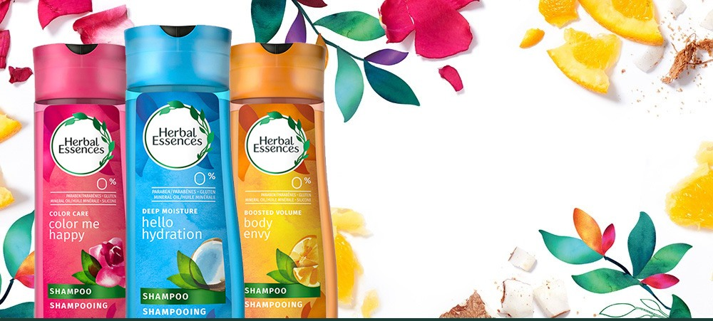 Herbal Essences Infused Fragrances Touchable Hair