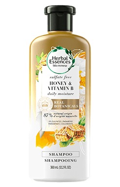 Herbal Essences Honey Vitamin B shampoo