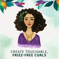Herbal Essences Create Touchable Frizz-Free Curls