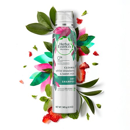 White Strawberry and Sweet Mint Dry Shampoo