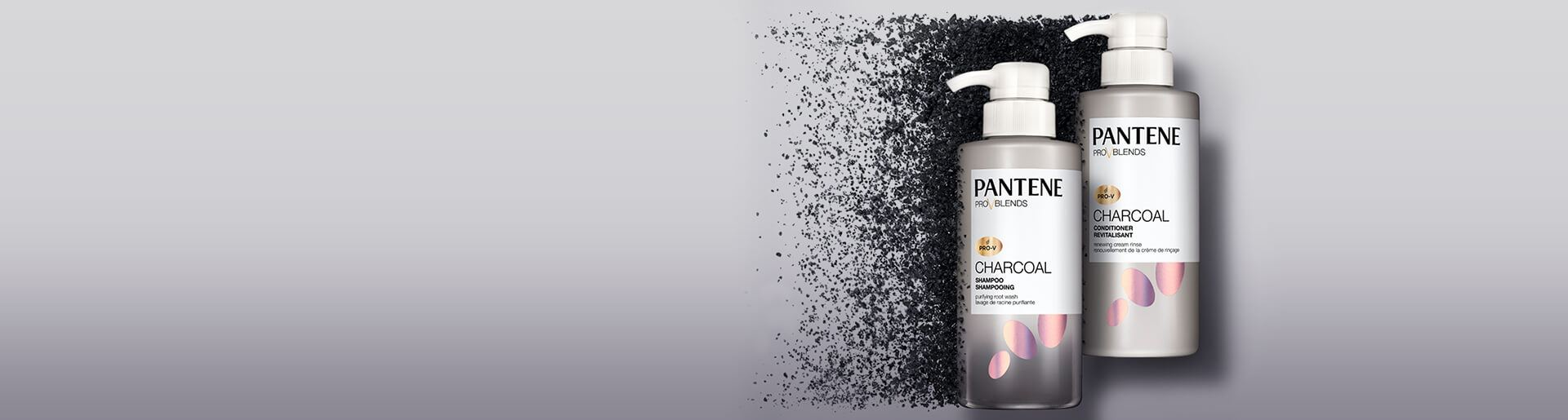 Pantene Charcoal Collection