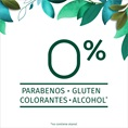 0% PARABENOS GLUTEN COLORANTES ALCOHOL