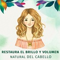 Restaura El Brillo Y Volumen Natural Del Cabello