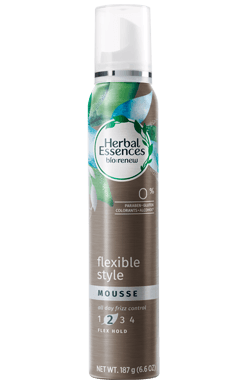Mousse para un estilo flexible