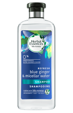 Herbal Blue Ginger And Micellar Water Shampoo
